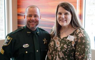 08 - Sgt. Michael Truscott (left), Jessica Stanfield (right)
