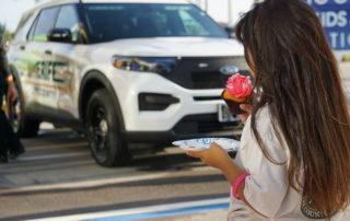 10 - Child enjoying pre-shopping cupcake