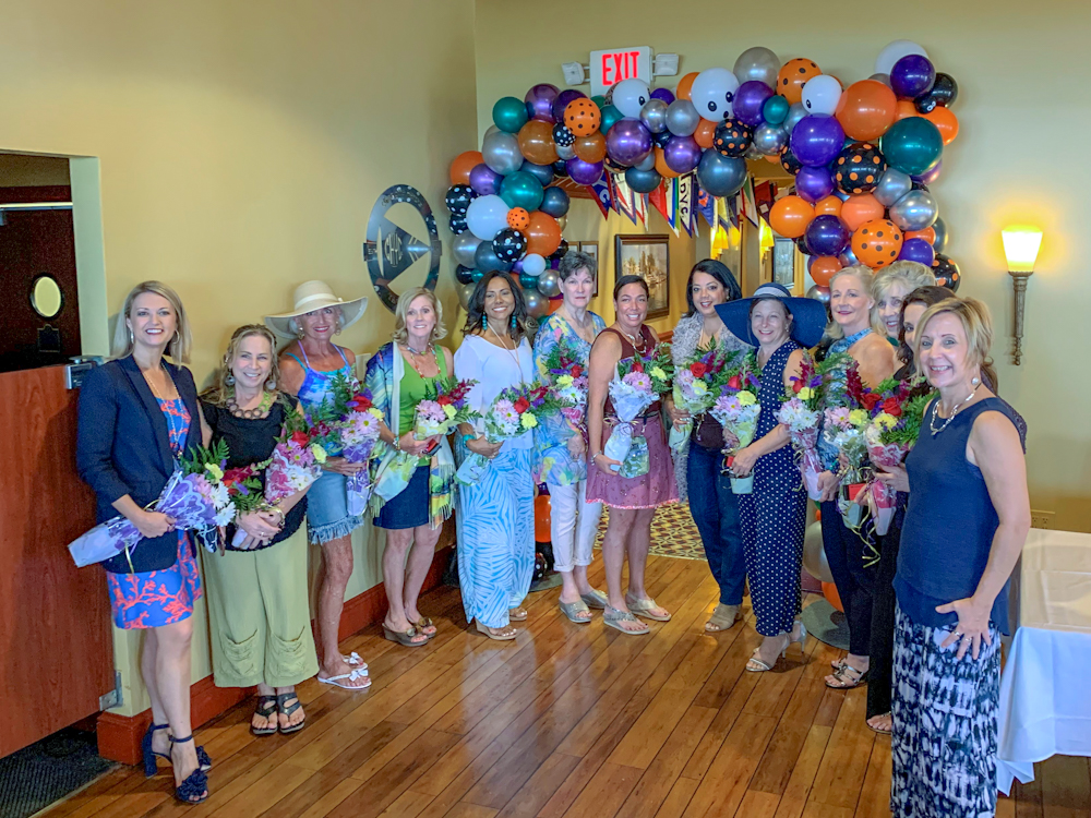 Fashion models showcased the latest styles and trends at Guardian ad Litem Foundation's 2019 Fashion to a Tea luncheon, which raised $10,776 to support foundation programs and services.